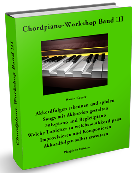 Chordpiano-Workshop Inhalt Band III